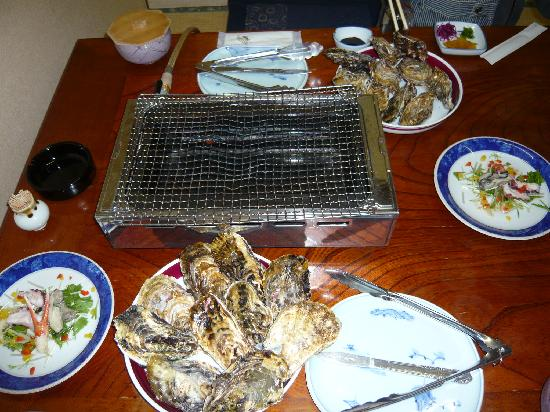 Yamazen : 焼き牡蠣