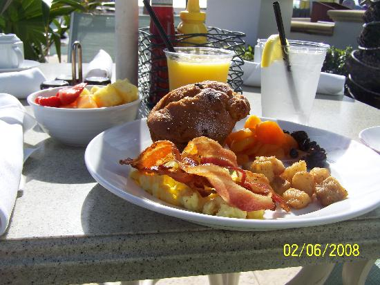 Hollywood Beach Marriott: My delicious breakfast