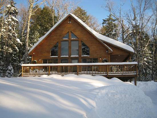 Cozy Moose on Moosehead Lake: The Hideaway cabin-absolutely beautiful