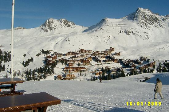 Hotel Carlina : A cluster of buildings of Belle PLagne with Caralina in there somewhere!