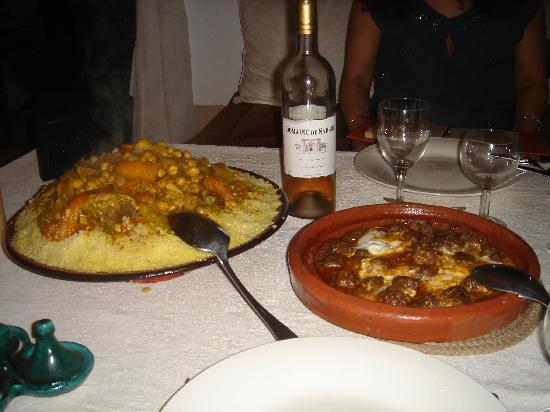 Riad Les 5 Soeurs: Un régal le couscous de Latifa