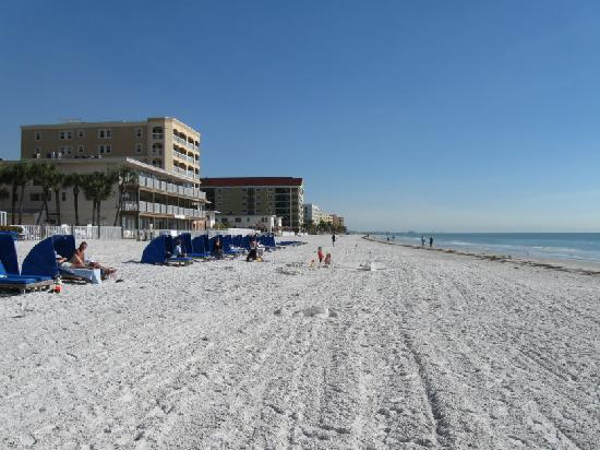 Doubletree Beach Resort By Hilton Tampa Bay North Redington In Front Of