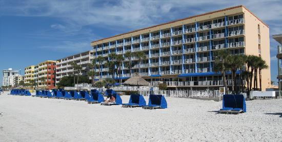 Doubletree Beach Resort By Hilton Tampa Bay North Redington Beach Doubletree Resort View From