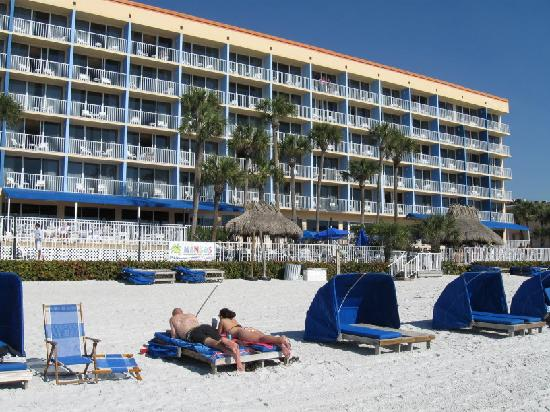 Doubletree Beach Resort By Hilton Tampa Bay North Redington View From