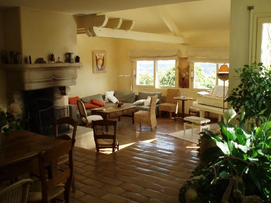 La Terre D'or : Living area