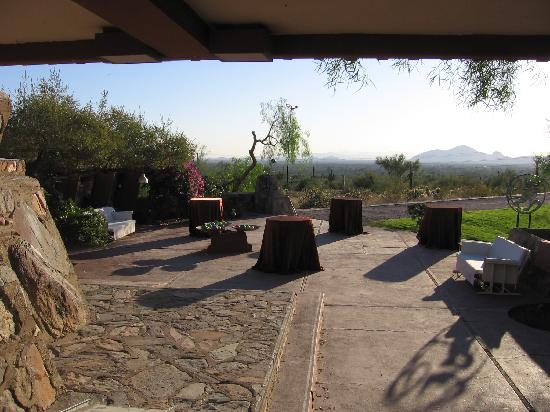 Taliesin West: view of the grounds