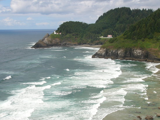 Oregon: Heceta Head Lighthouse, OR Coast