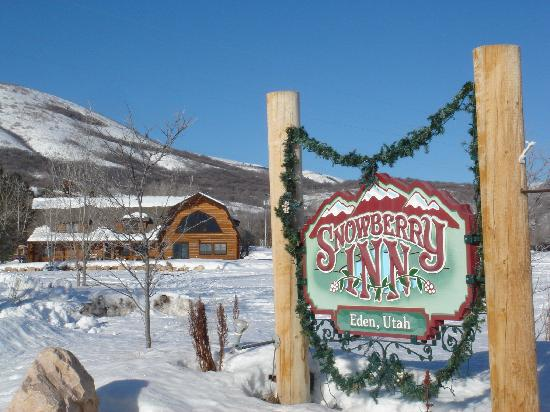 Snowberry Inn Bed & Breakfast: View from the road