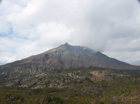 Kagoshima, Japon : 有村溶岩展望所より