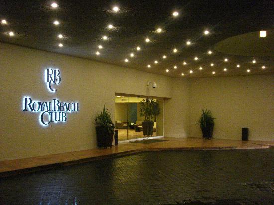 The Westin Resort Spa Cancun Royal Beach Club Building Entrance