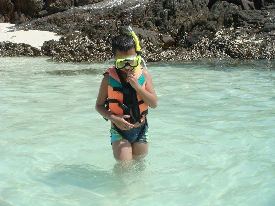 เกาะไข่: Kids can play too