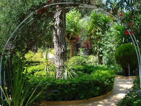 Dionysos Hotel: garden