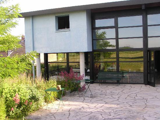 Fresnes-Mazancourt, Γαλλία: Maison Warlop - rear aspect
