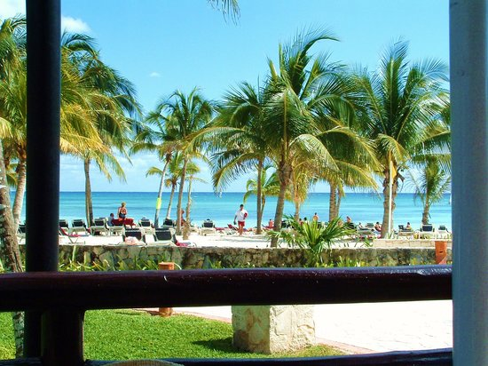 Barcelo Maya Beach Our View For Most Lunches