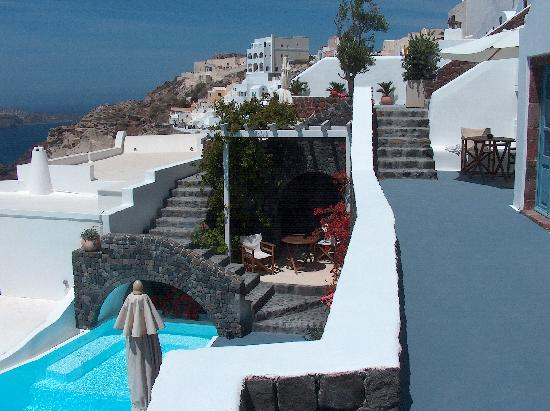 Terrazas y acceso a la piscina fotograf a de atrina - Terrazas de piscinas ...