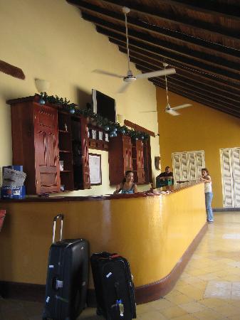 Hotel El Club: Reception at El Club