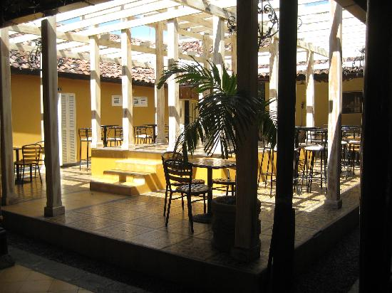 Hotel El Club: The courtyard