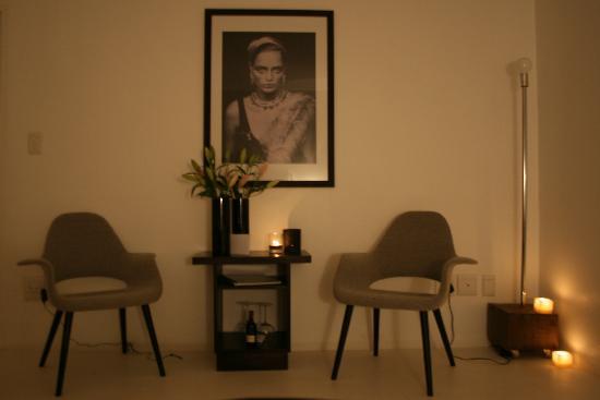 Zensa Lodge: Candlelit room