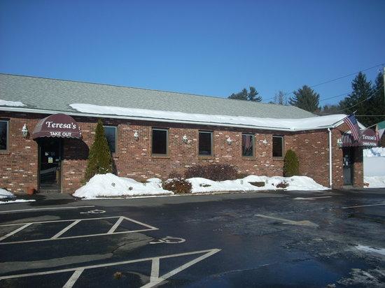 Photo of Italian Restaurant Teresa's Ristorante at 315 Palmer Rd, Ware, MA 01082, United States