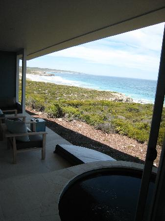 Southern Ocean Lodge: Terrace