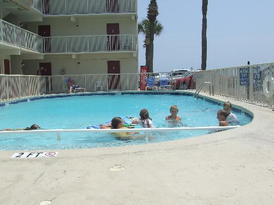 Super  Myrtle Beach Ocean Front Area The Pool Area Aug