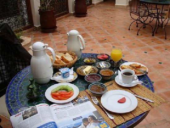 Riad Daria: fantastisches frühstück