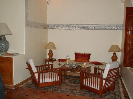 Riad Daria: eingagnsbereich des riads