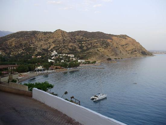 El Greco Hotel: view from our balcony