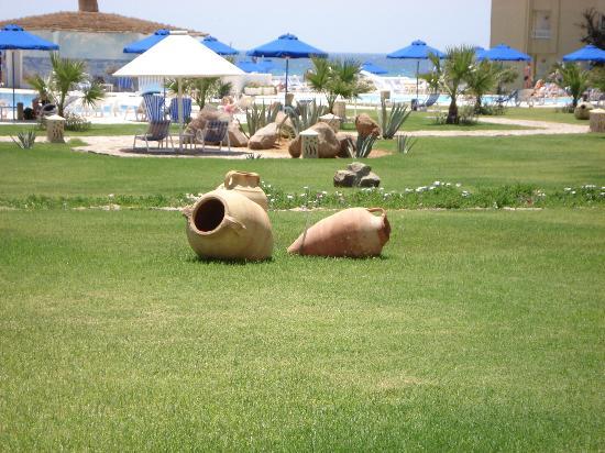 Cap-Bon Kelibia Beach Hotel & Spa : Dettaglio del giardino