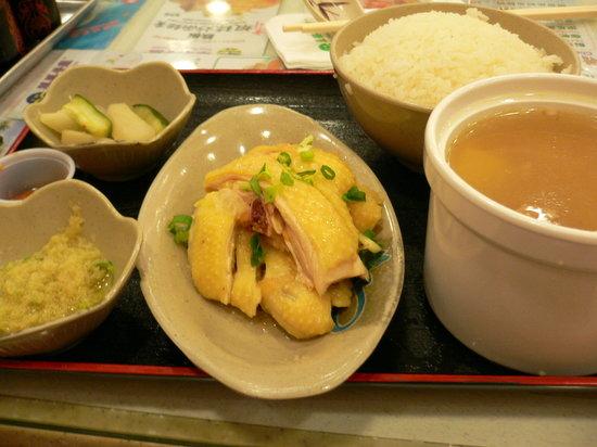 Tsui Wah Restaurant : 海南鶏飯