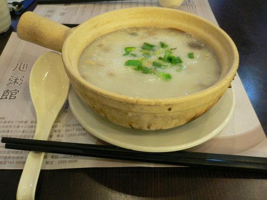 Heart Congee Restaurant: 皮蛋瘦肉粥