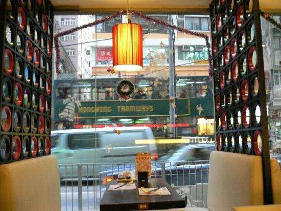 Heart Congee Restaurant: 店内から