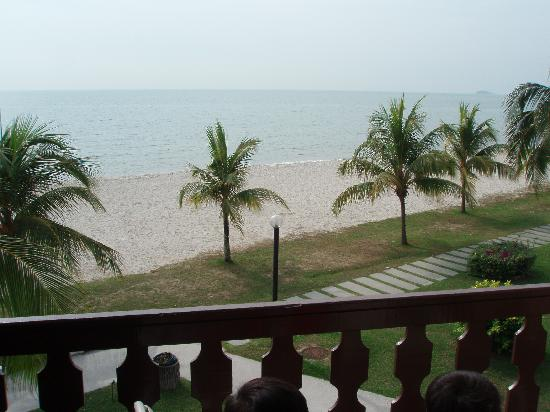 The Grand Beach Resort: View from hotel balcony