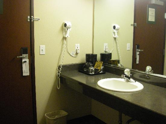 Oxford Suites Yakima: Sink by Front Door