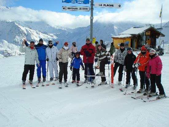 Ancolies Lodge: The Afternoon Skiers