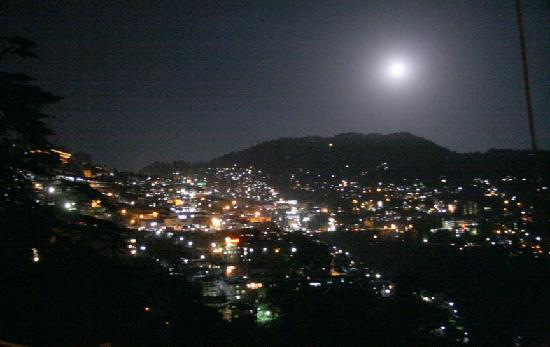 shimla at night