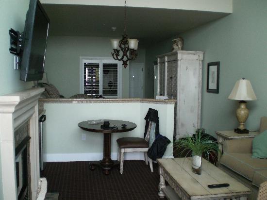 Oceano Hotel & Spa Half Moon Bay: inside room 2