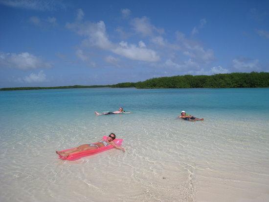 Kralendijk, Bonaire: Cai (or Kai) beach - Lac Bay - Bonaire