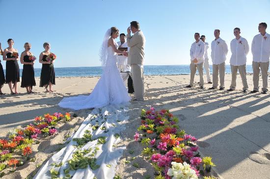 Pueblo Bonito Sunset Beach Golf Spa Resort Wedding Decor