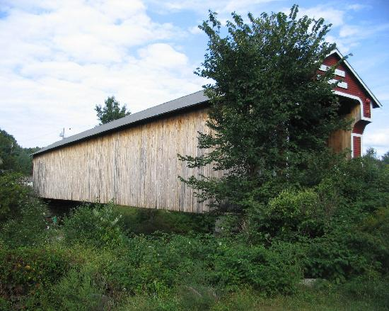 Swanzey, NH: side view of the Slate