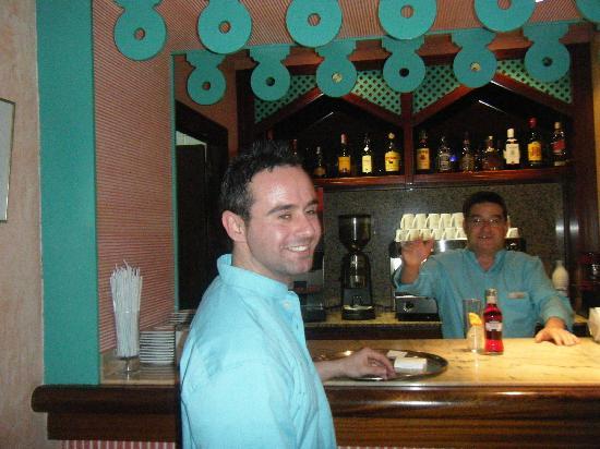 smartline Lancaster : friendly bar staff paco and alex
