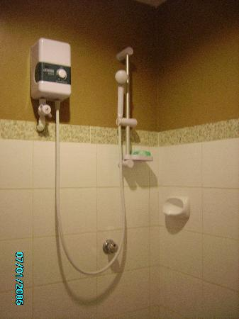 The Bath With The Electric Water Heater Picture Of Sampaguita Suites Jrg Cebu City Tripadvisor