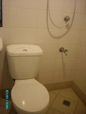 The bath with the electric water heater - Picture of Sampaguita ...