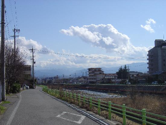 view from the front of the Ryokan Seifuso