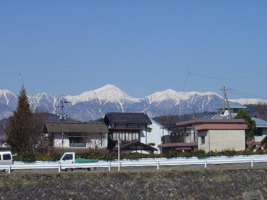 Ryokan Seifuso : mountains nearby Seifuso