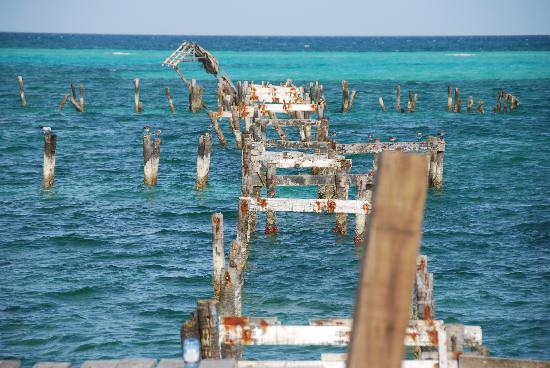 The pier after hurricane wind damage picture of melia for Cementerio parque jardin del sol pilar