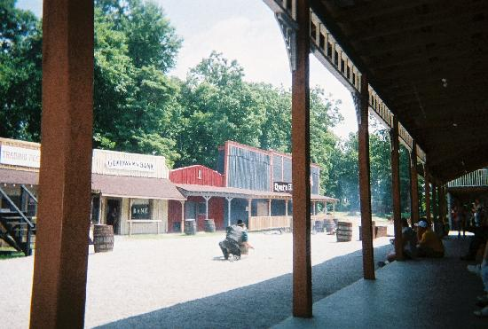 Guntown Mountain: The old western town