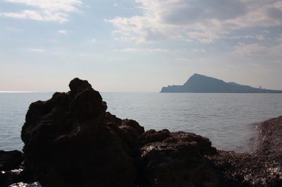 Jardin de los Sentidos: The quiet beach