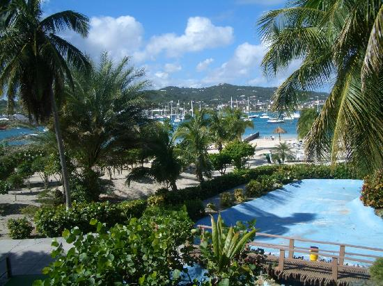 Hotel on the Cay: 部屋からのながめ