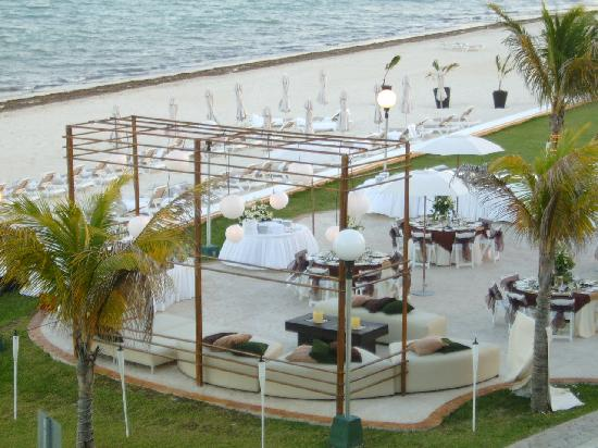 Moon Palace Cancun The Wedding Reception On Beach
